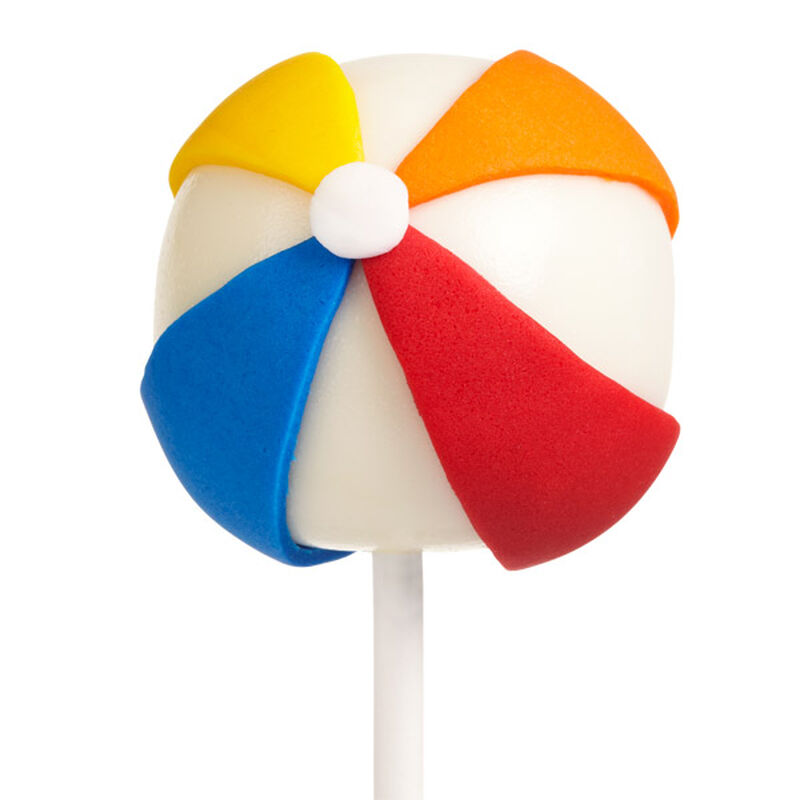 Beach Ball Cake Pops image number 0