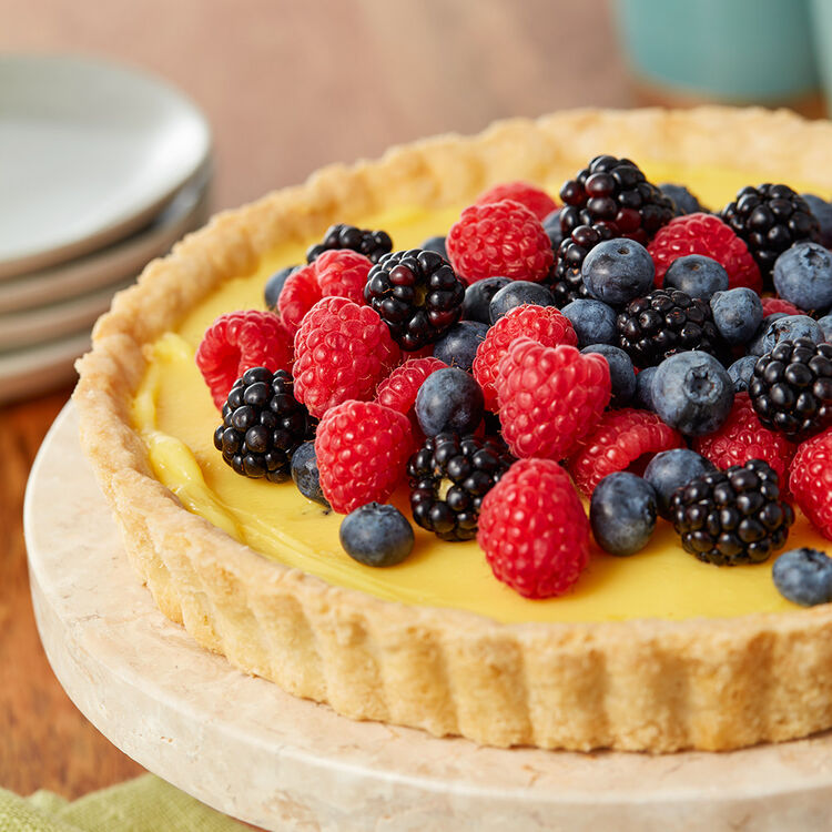 Mixed Fruit Tart Recipe