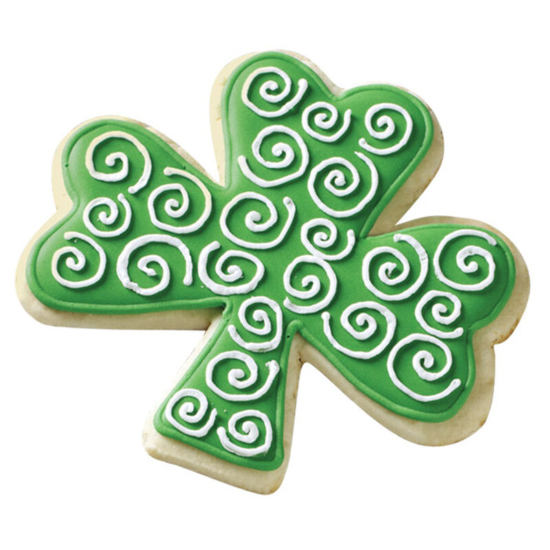 Pick a Lucky Shamrock Swirls Cookie image number 0