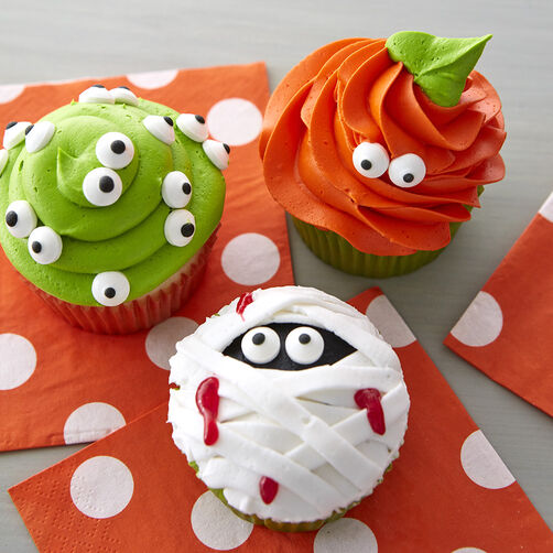 Halloween monster cupcakes wilton - Halloween decorations for cupcakes ...