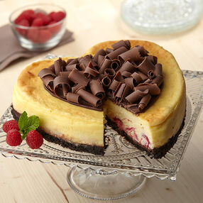 One Sweetheart of a Cheesecake