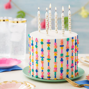 Totally Textured Birthday Cake