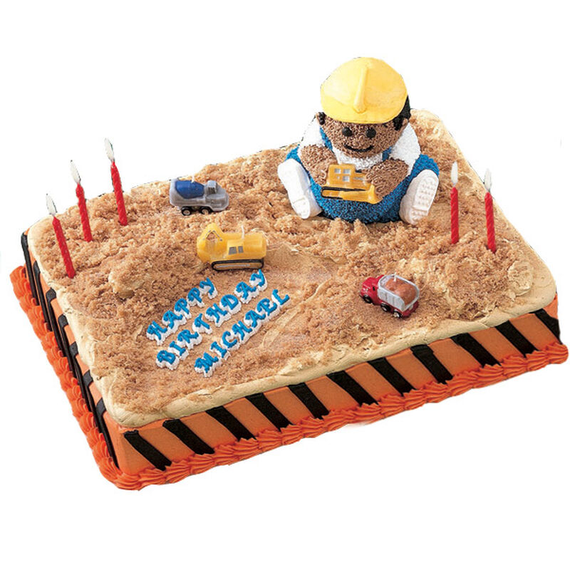 Construction Zone! Cake image number 0