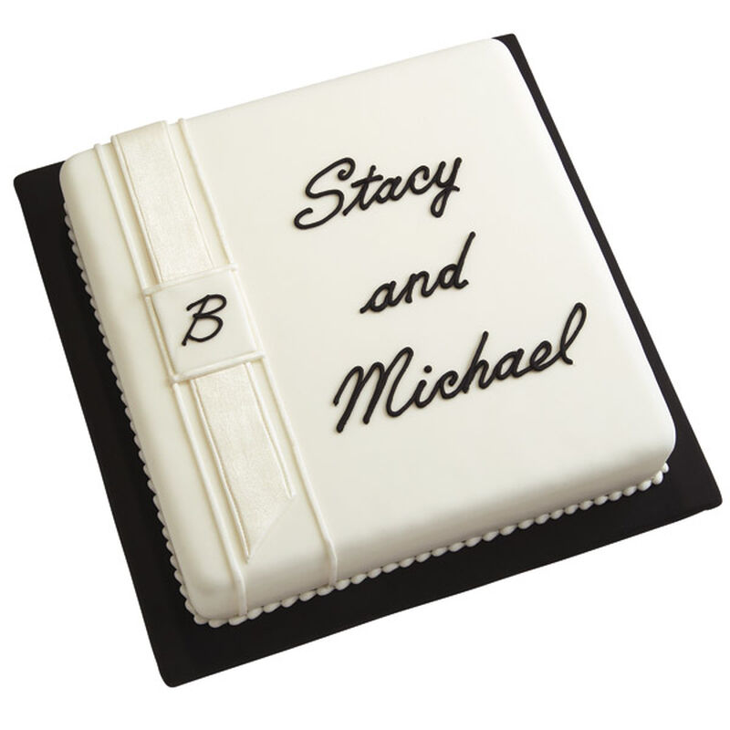 Personalized Easy Wedding Cake image number 0