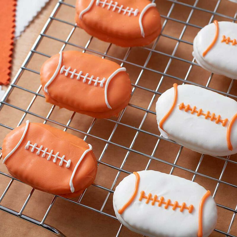 Wilton Peanut Butter Football Crackers image number 0
