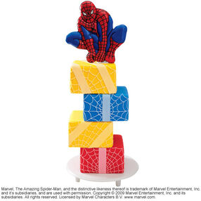Spider-Man at the Summit Cake