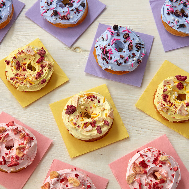 Fruity Spring Donuts image number 0