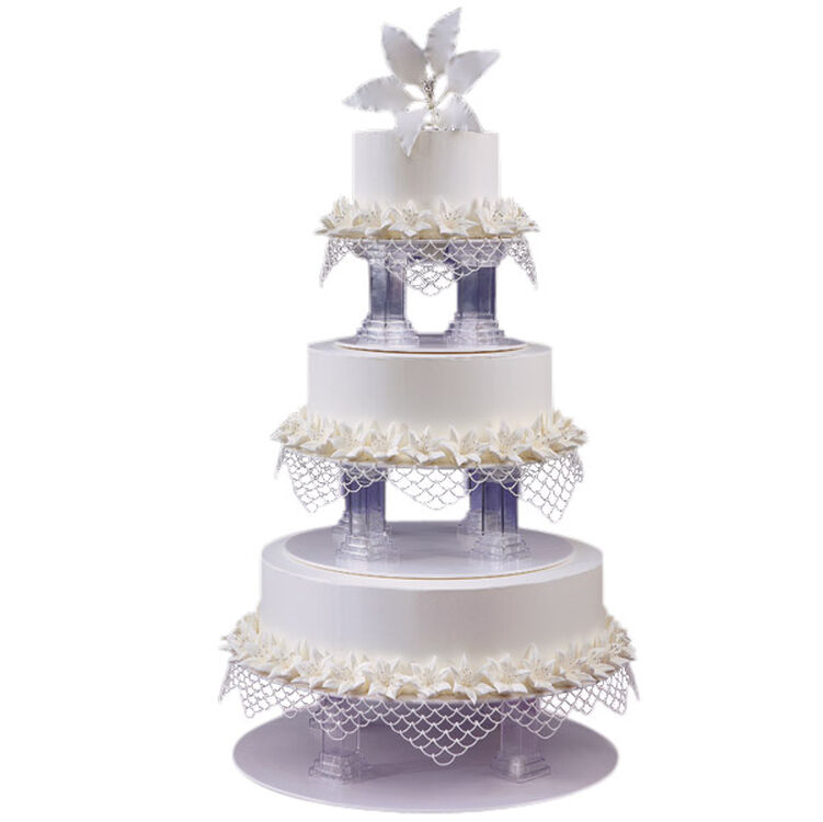 Love, Lilies and Lace Cake