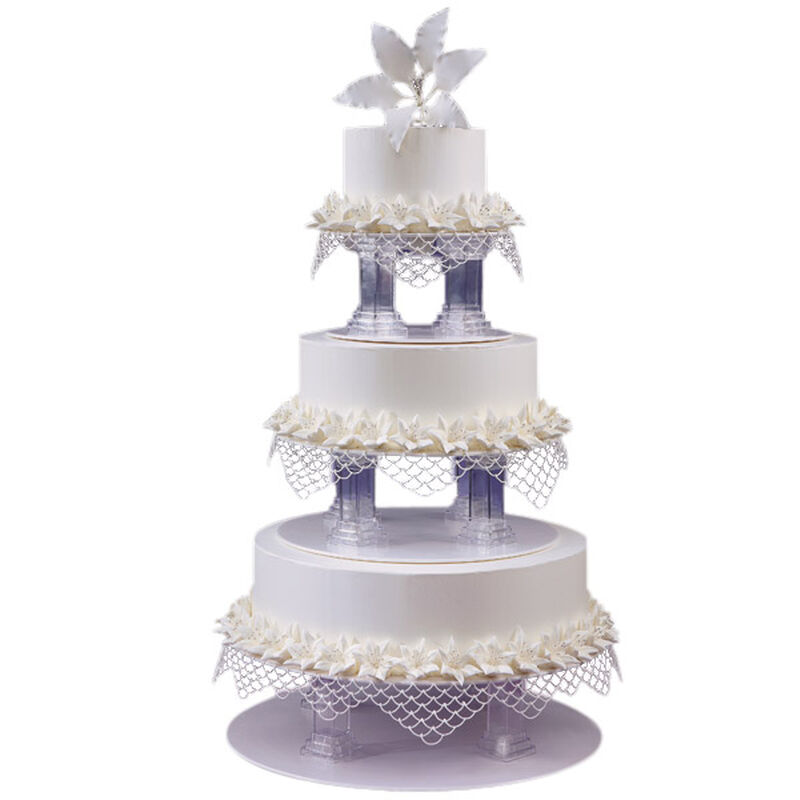 Love, Lilies and Lace Cake image number 0