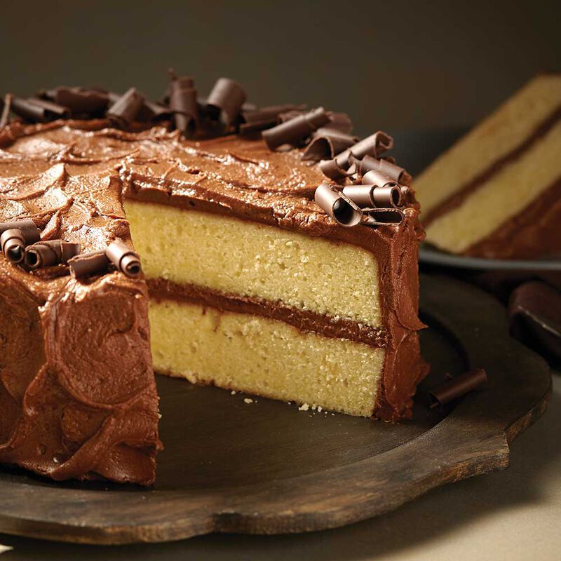 Wilton Chocolate Buttercream Butter Cake image number 0