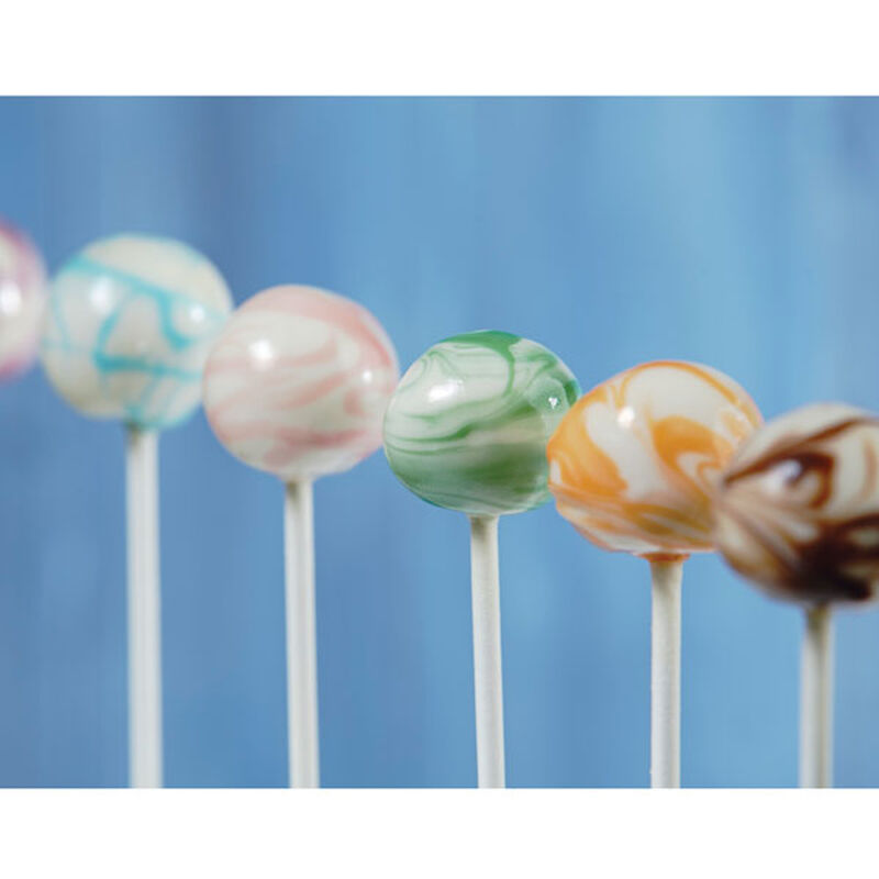 Marble Swirls Candy Cake Pops image number 0