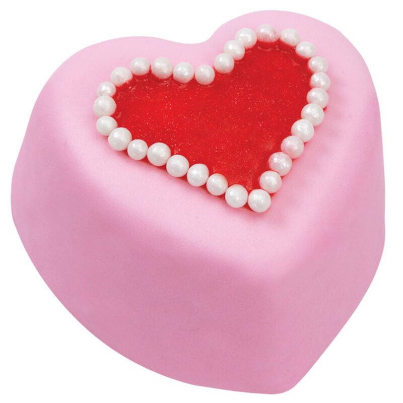 Pink Heart Mini Cakes image number 0