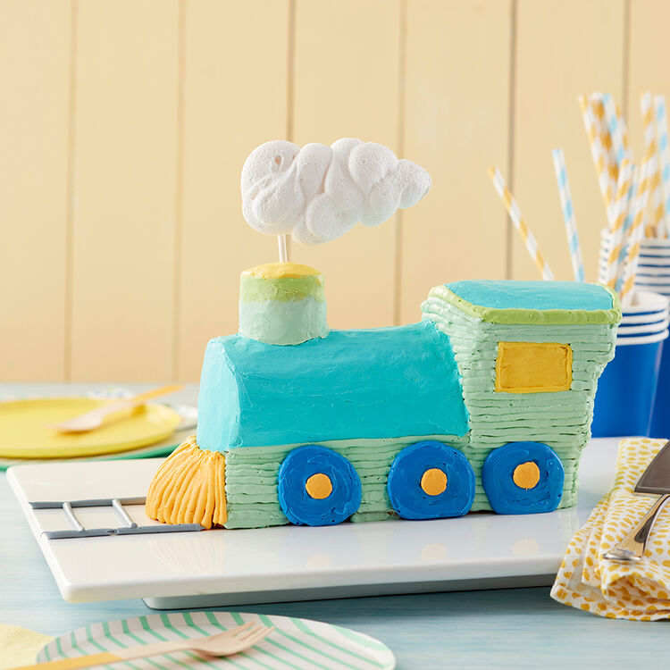 All Aboard for Birthday Fun Cake