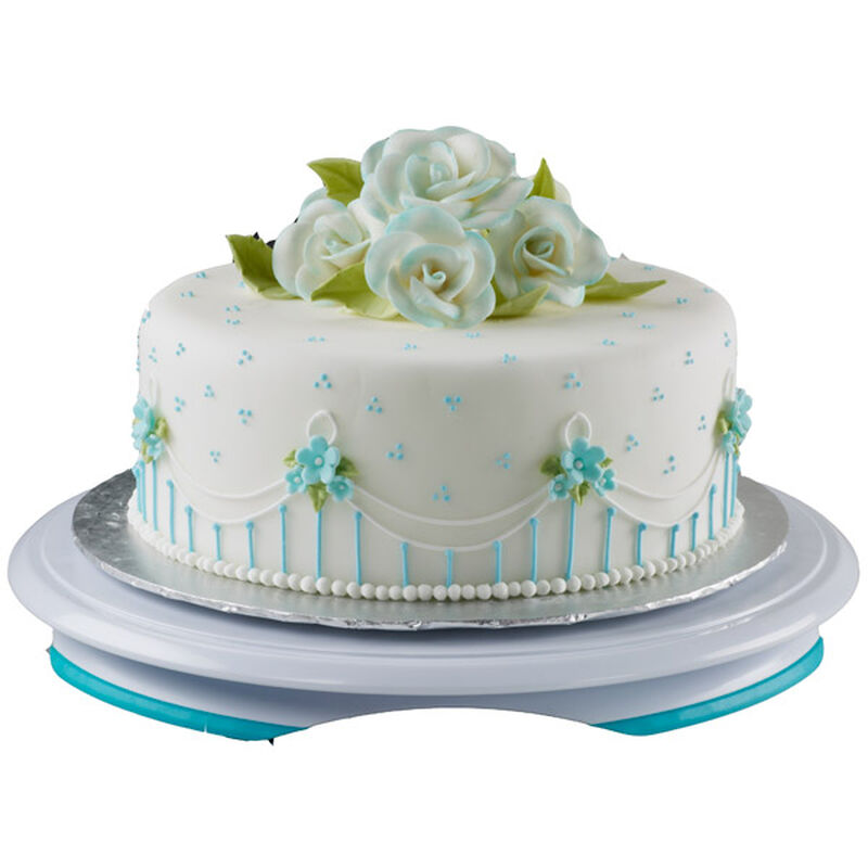 Blossoms in Blue Cake image number 0