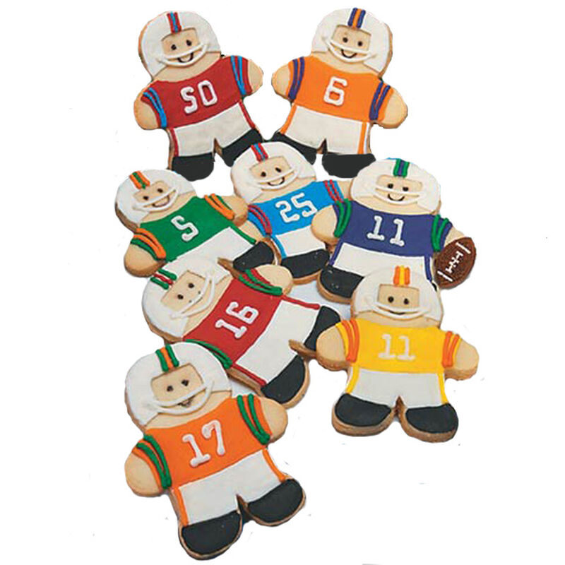 Football Player Cookies image number 0