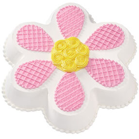 Lattice Petal Daisy Cake