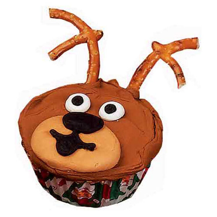Star of the Sleigh!  Cupcakes