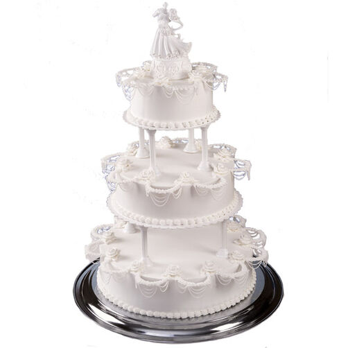 Dancing on a Cloud Wedding Cake