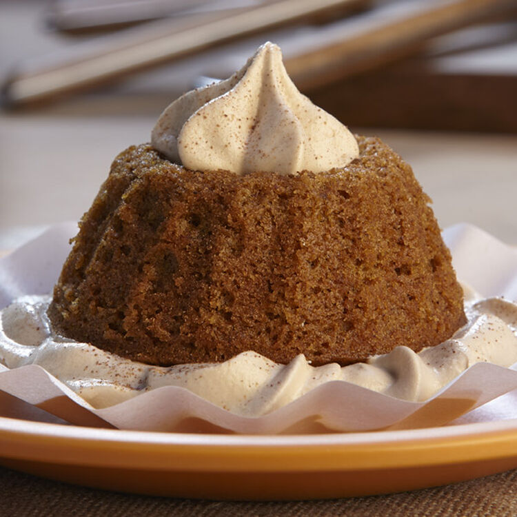 Fall Flavored Mini Pumpkin Spice Latte Cake Desserts