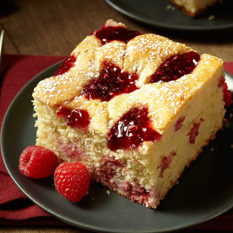 Wilton Raspberry Cheese Coffee Cake Recipe image number 0