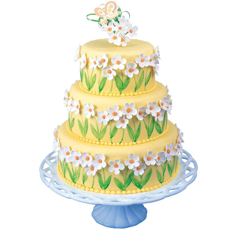Everything's Coming Up Daisies Cake