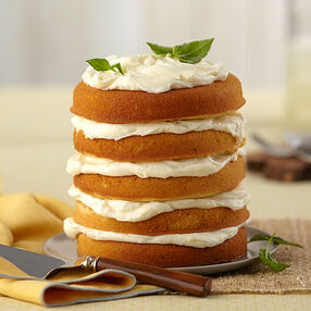 Lemon Basil Cake