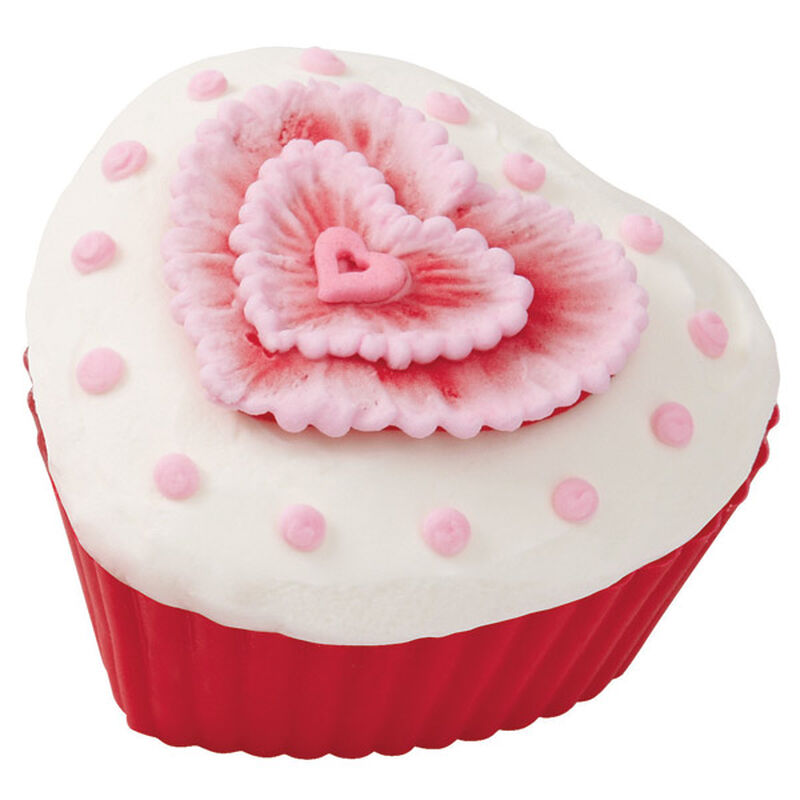 Hearts' Desired Embroidered Cupcake image number 0