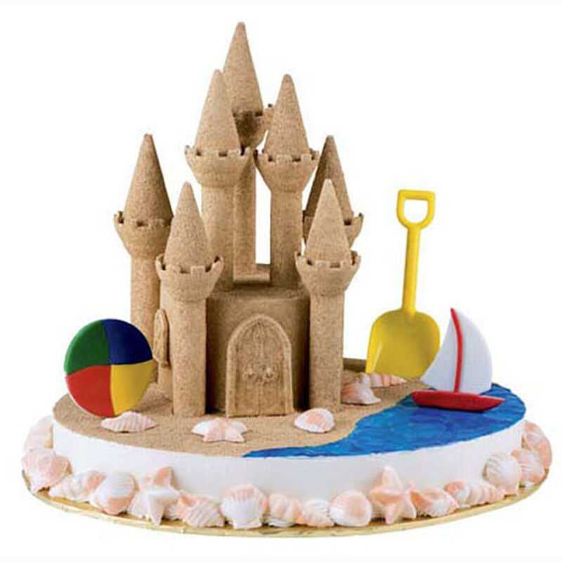 Serenity by the Sea Castle Cake image number 0