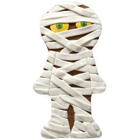 Mummy in Minutes Halloween Cake