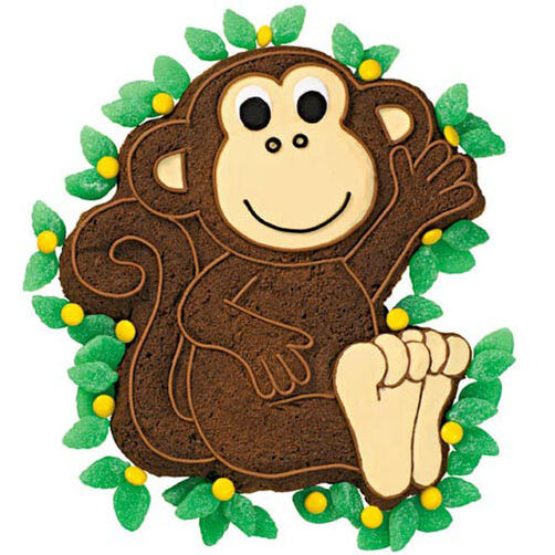 Quick Brownie Monkey