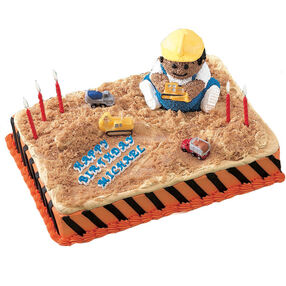 Construction Zone! Cake