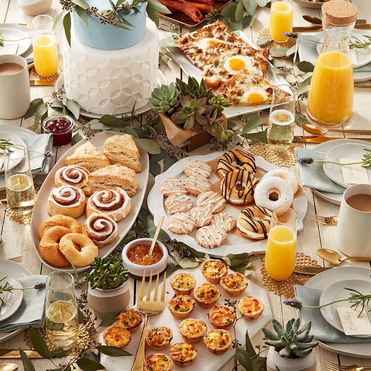 Rustic Wedding Brunch