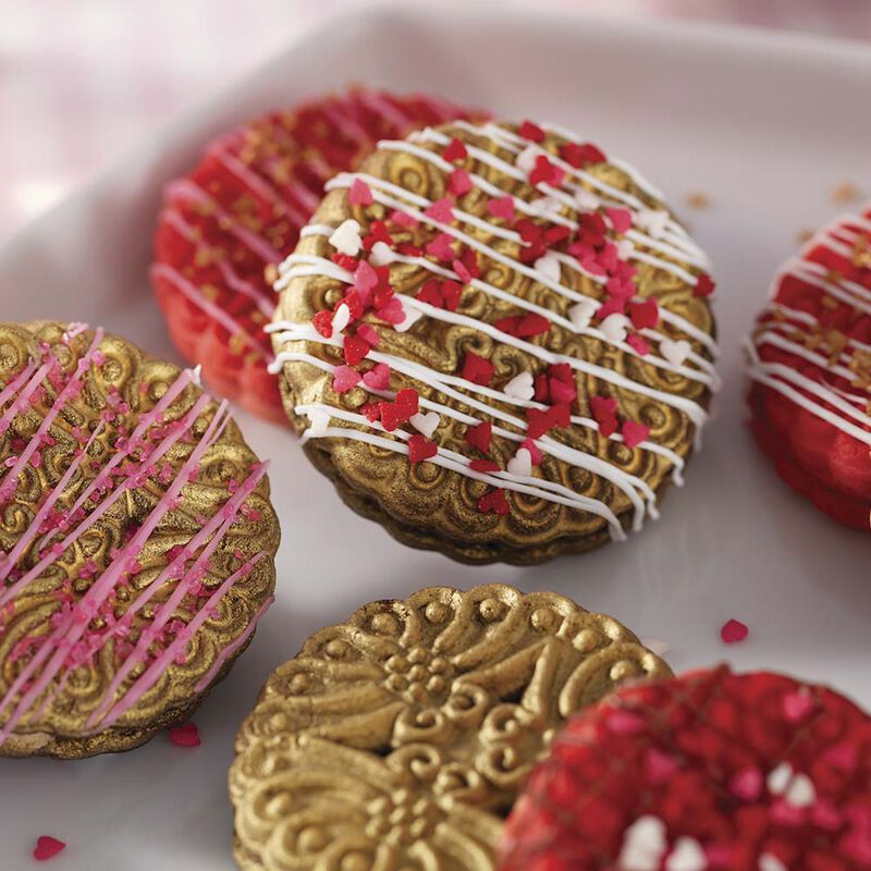 Sprinkled with Love Sandwich Cookies image number 1