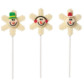 See Snow and Smile Lollipops