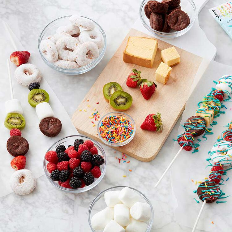 Simple and Delicious Dessert Kabobs