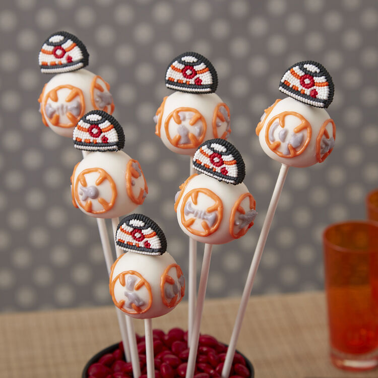 Star Wars® BB8 Cake Pops