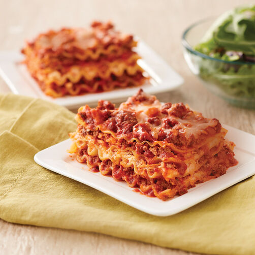 Home-Style Meat Lasagna Recipe