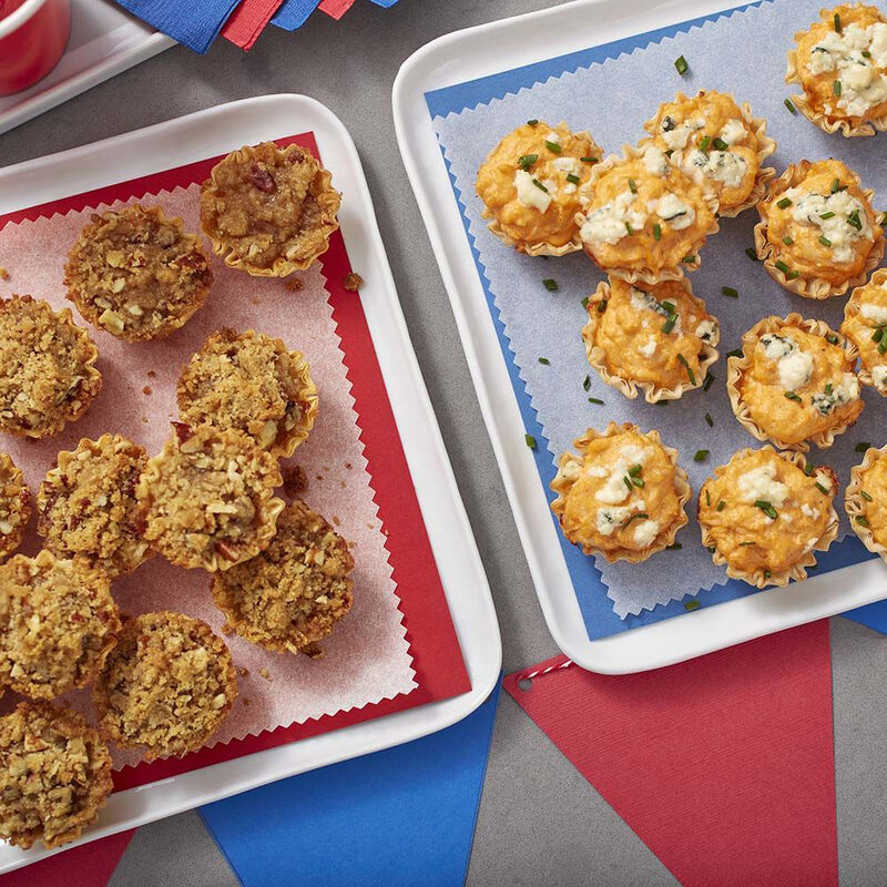 Buffalo Chicken Bites and Mini Apple Pies Recipe image number 0