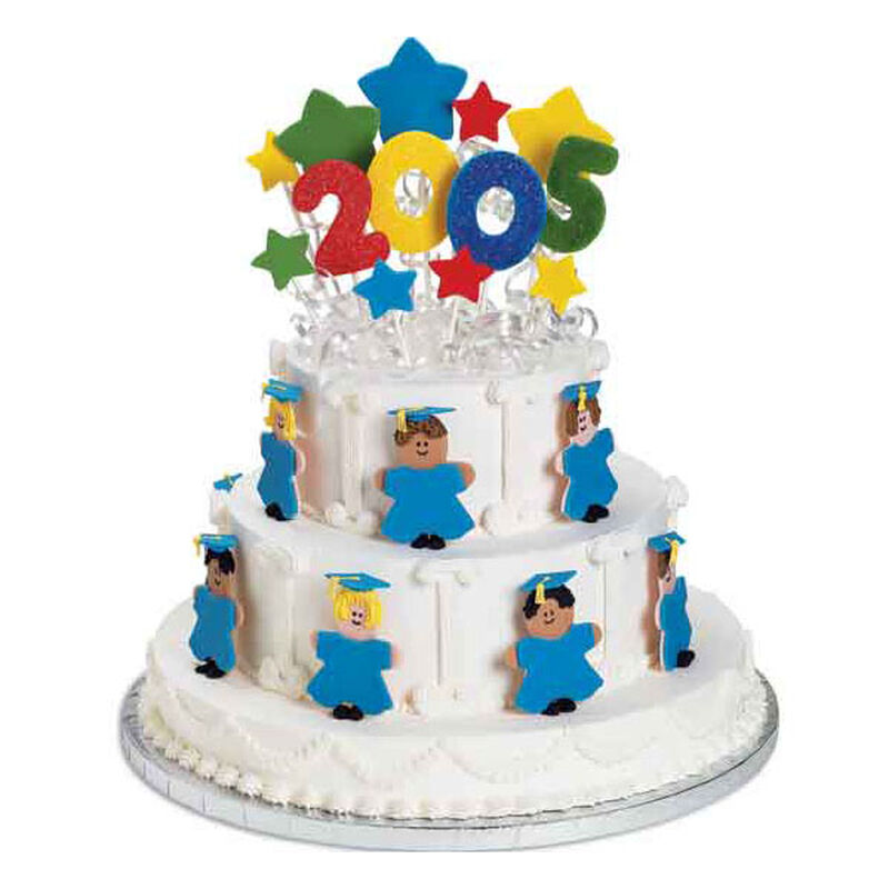 Tomorrow's Stars Graduation Cake image number 0