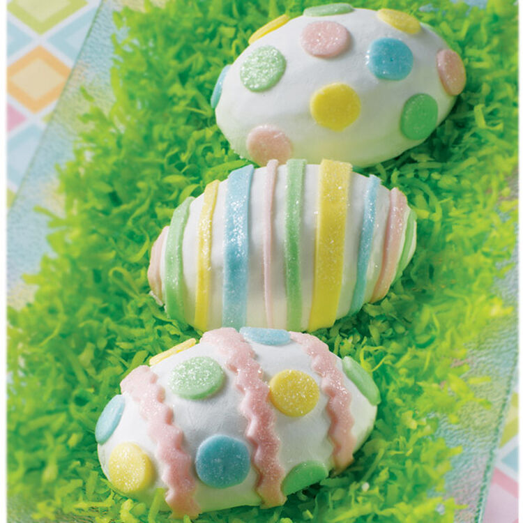 Shells in Pastels Mini Cakes