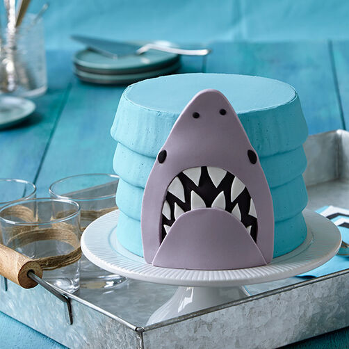 Shark Cake Is Here Wilton