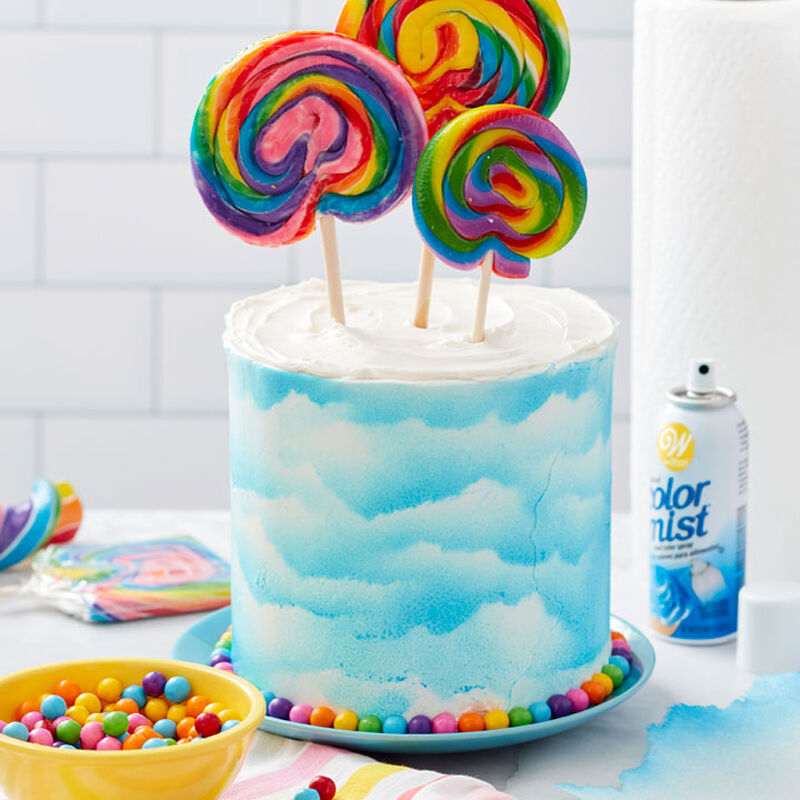How to Make an Easy Cloud Cake