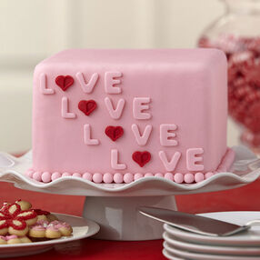 Layered with Love Fondant Cake