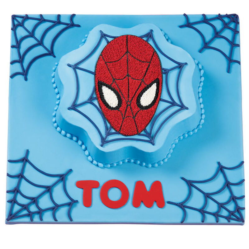 Spider-Man Web Wishes Birthday Cake image number 0