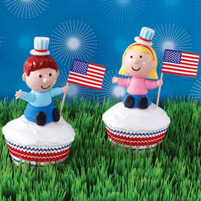 Young Americans Cupcakes