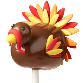 Plentiful Plumage Turkey Brownie Pop