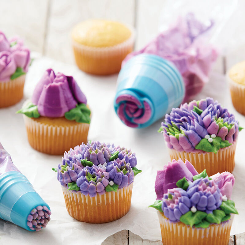 Easy Bloom Floral Cupcakes image number 1