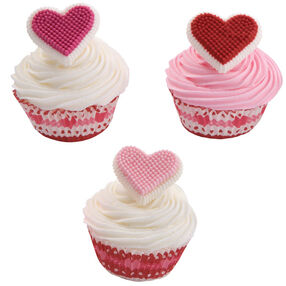 Bursting with Love Cupcakes