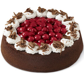 Elegant Chocolate Cherry Cake