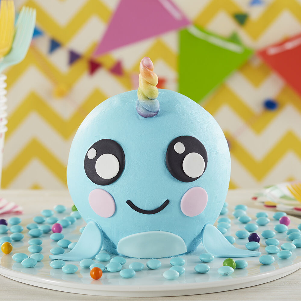 Magical Narwhal Cake Wilton